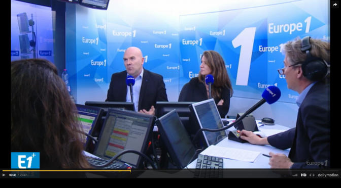 Bruno Bonnell sur Europe1