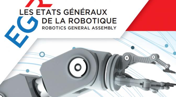 États généraux de la robotique 2016